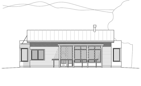 Casa ti eco friendly modern prefab house kit by david day for Modern passive solar house plans