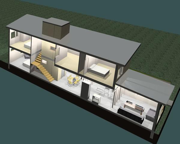 Prefab Passive Solar Green Homes: Green Modern Kits! Modern SIP