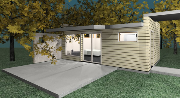 The R1 Residential Addition: affordable modern addition!